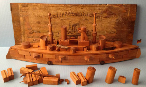Battleship wood and tin toy boat constructor.jpg