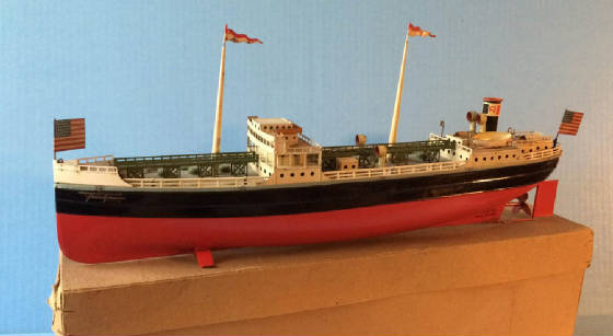 Antique And Vintage TOY BOATS And MARINE TOYS For Sale - Toy cruise ships for sale