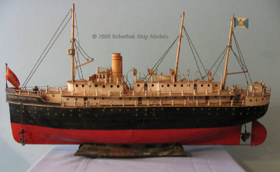 "Marklin great tin boat ocean liner 29"" long"