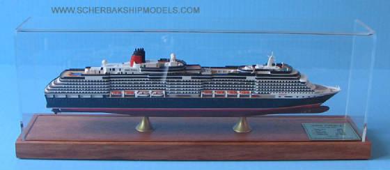 QUEEN VICTORIA Cruise Ship Model Cunard Line 2007