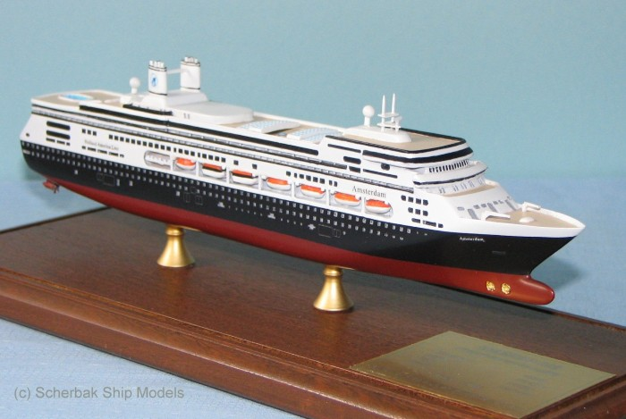 Amsterdam cruise ship model photo