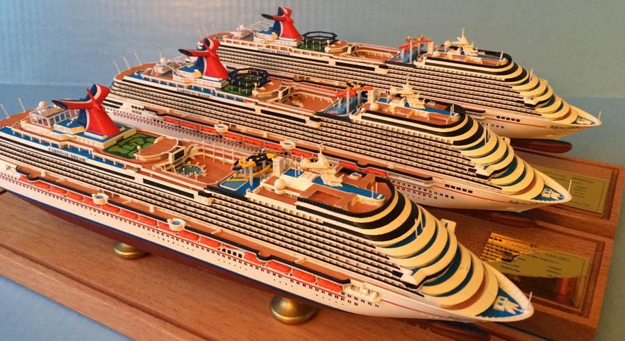CARNIVAL DREAM Class Cruise Ship Models Scale - Carnival cruise ship classes