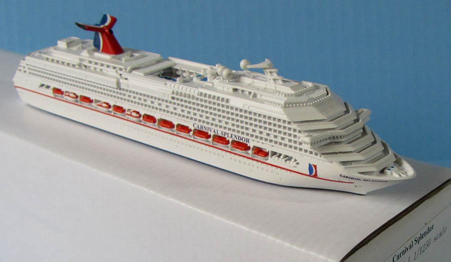 Souvenir CARNIVAL SPLENDOR Cruise Ship Model Scale - Pictures of the carnival splendor cruise ship