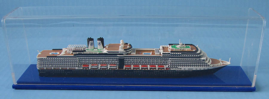 Eurodam cruise ship model 1:1250  Holland America