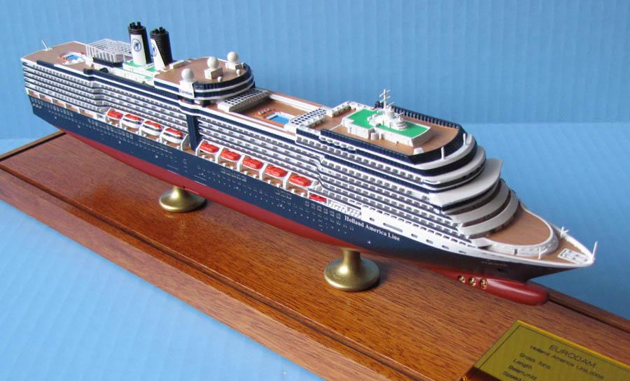 EURODAMclass Cruise Ship Models Holland America Line - Eurodam cruise ship