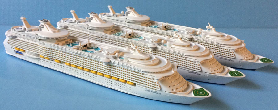 Freedom, Liberty, Independence of the Seas models
