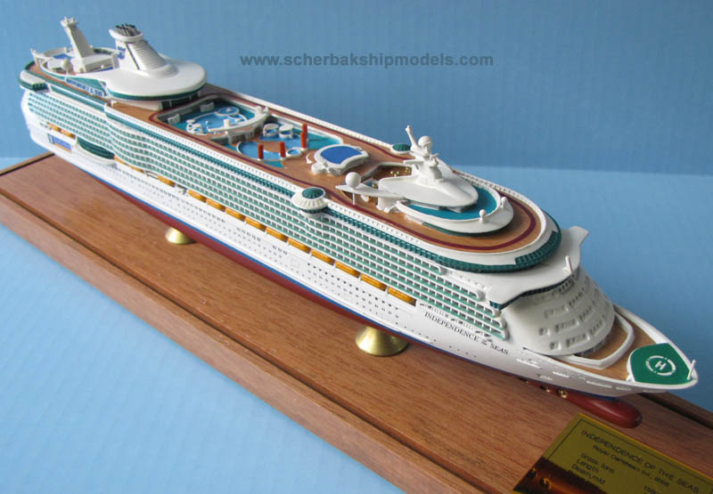 Independence of the Seas cruise ship model