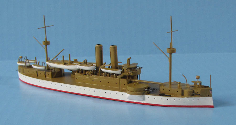 Battleship Maine ID models 1:500 scale