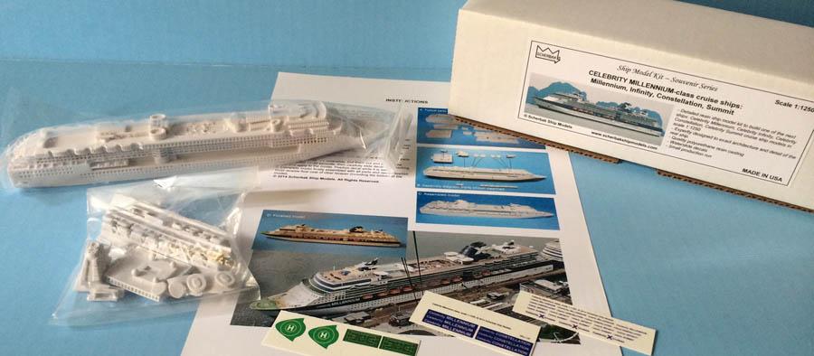 Souvenir CELEBRITY MILLENNIUMclass Cruise Ship Models - Model cruise ship kits