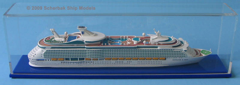 Navigator of the Seas cruise ship model