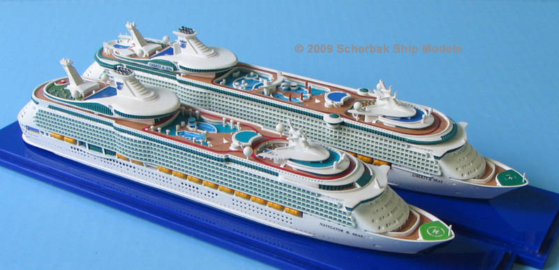 Navigator, Liberty of the Seas cruise ship models
