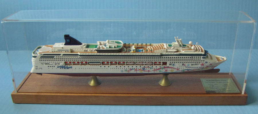 Norwegian Star cruise ship ocean liner model