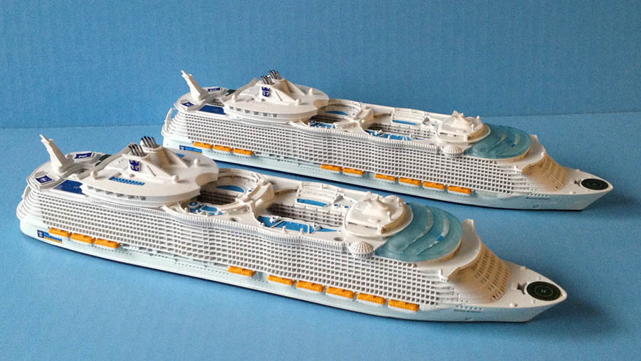 Oasis / Allure of the Seas cruise ship models.jpg