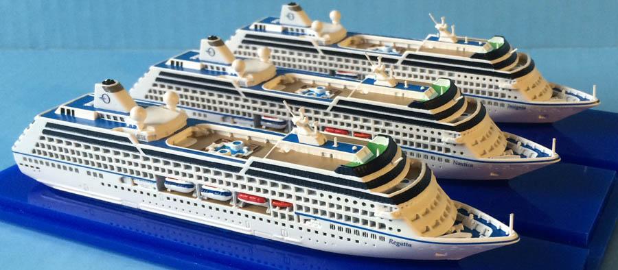Collectors Series Rclass Cruise Ship Models Scale - Oceania regatta cruise ship