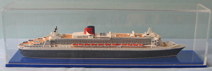 Queen Mary 2 cruise ship model.jpg