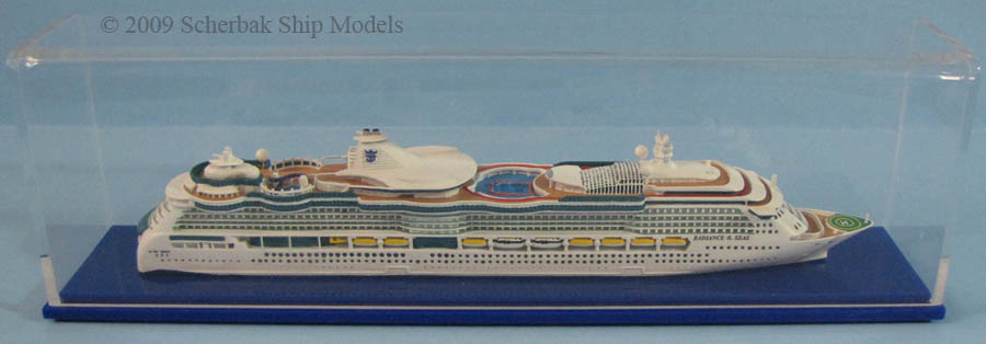 Radiance of the Seas model 1:1250 scale