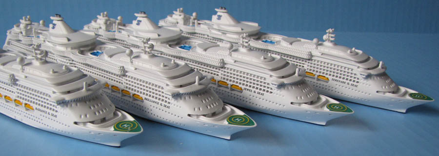 Souvenir RADIANCE OF THE SEAS Class Cruise Ship Models - Radiance of the seas