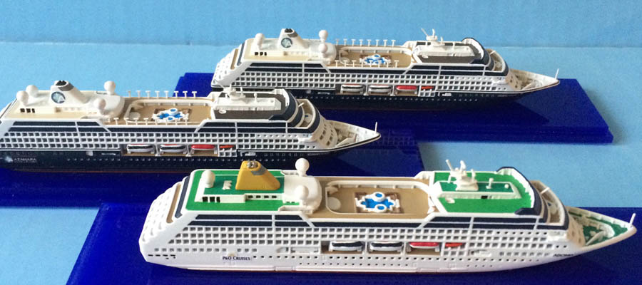 Collectors Series Rclass Cruise Ship Models Scale - Adonia cruise ship