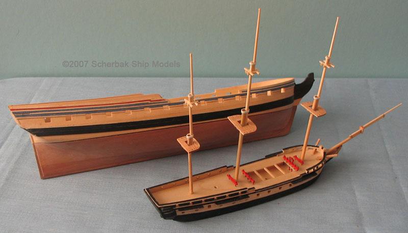 ... Ship Models Kits Wooden mckenzie drift boat | Mental Multivitamin