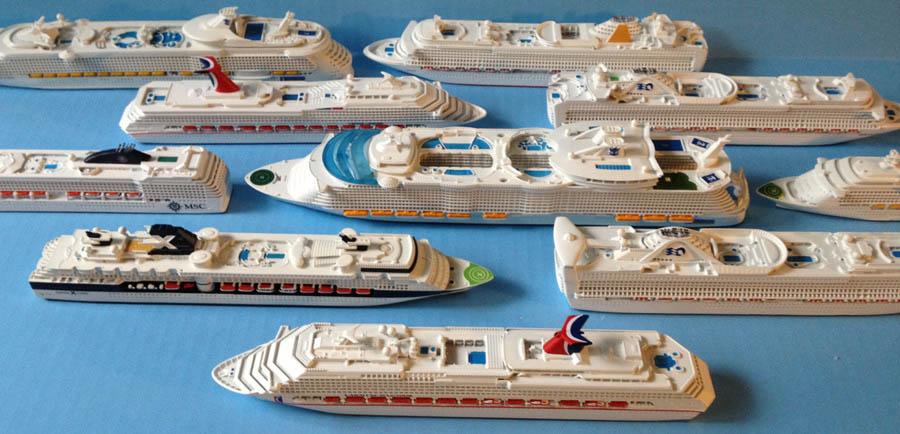 SOUVENIR SERIES Cruise Ship Models - Model cruise ship kits