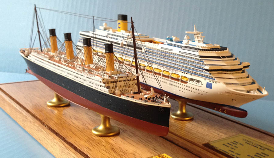 Fishing: Titanic model boat plans