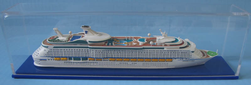 Voyager of the Seas  cruise ship 1:1250 model