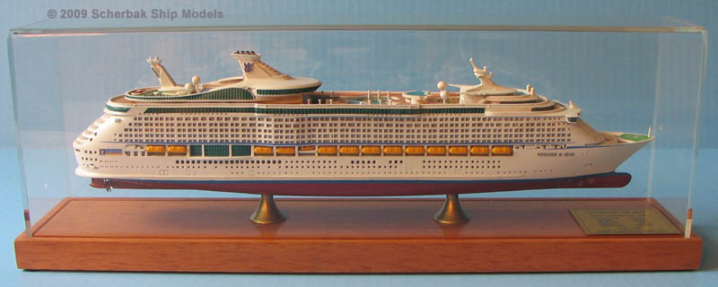 Voyager of the Seas cruise ship model