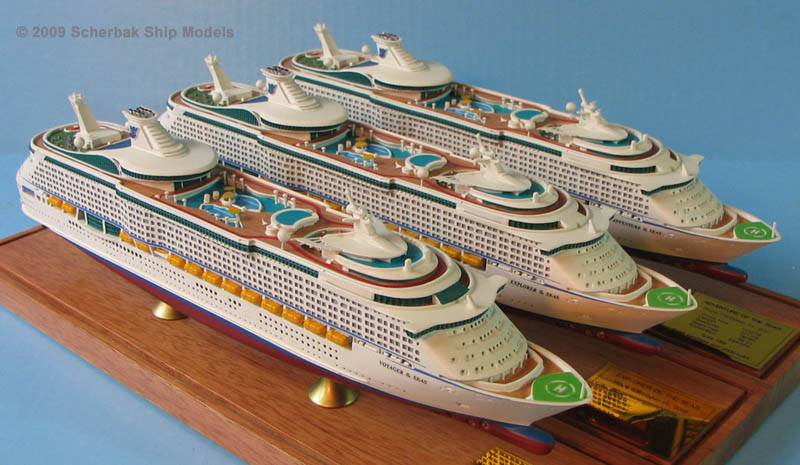 Voyager of the Seas class ship models